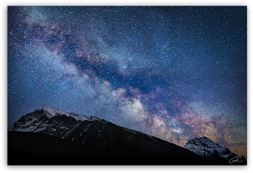 Milky Way - Jasper, AB - Fine Art Photo Print