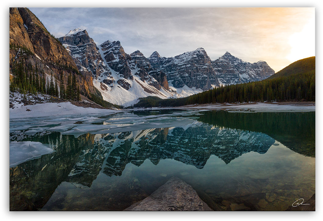 Moraine Lake - Banff, AB - Fine Art Photo Print