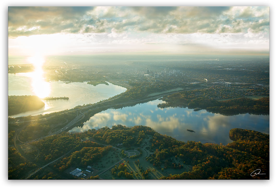 Sunrise over Coote's Paradise Hamilton - Photo Print